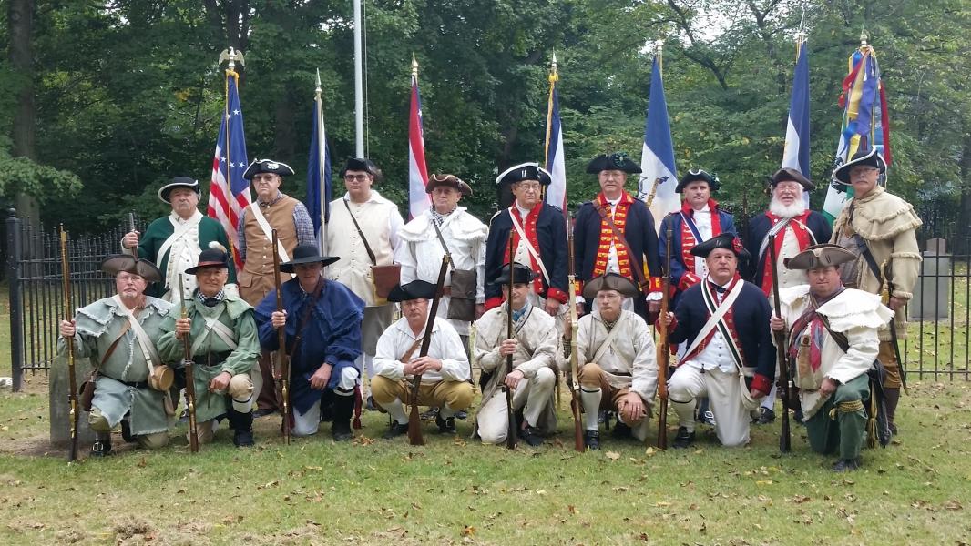 Color Guard Zane Memorial Service