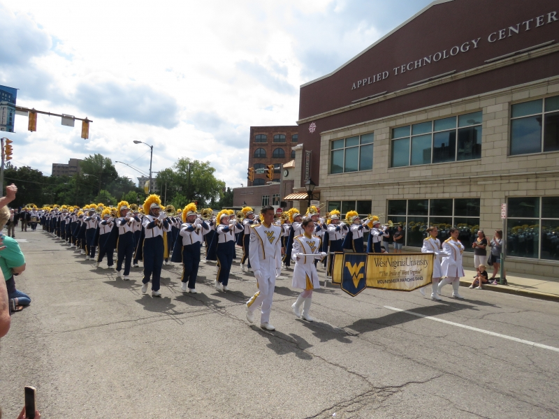 """The Pride of West Virginia"" The WVU Marching Band"
