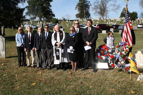Jacob Williamson - Patriot Grave Marking Ceremony