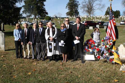 Jacob Williamson - Patriot Grave Marking Ceremony