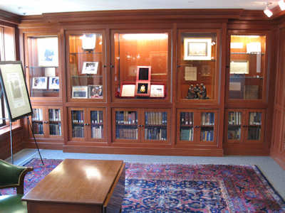 NSSAR Library Lunar Bible Exhibit