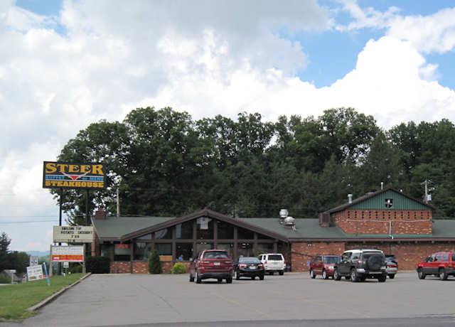 Steer Steakhouse - 359 Beverly Pike, Elkins, WV